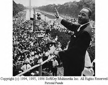 I have a dream that one day this nation will rise up and live out the true meaning of its creed. We hold these truths to be self-evident that all men are ...